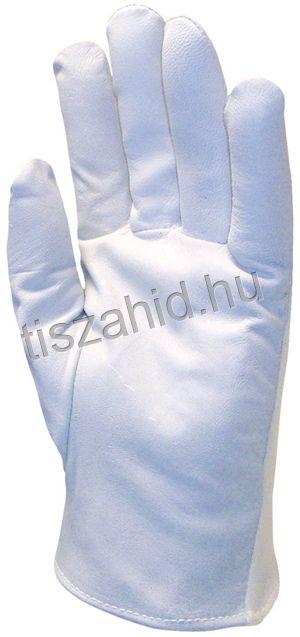 848 puha, kézre simuló színkecskebőr kesztyű