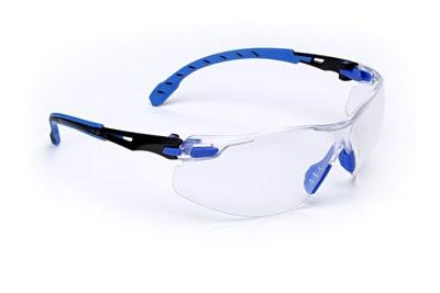 1101SGAF 3M SOLUS1000 kék-fekete víztiszta szemüveg