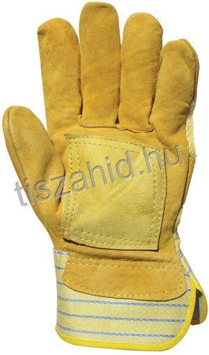 153 Erős sárga marhahasíték kesztyű