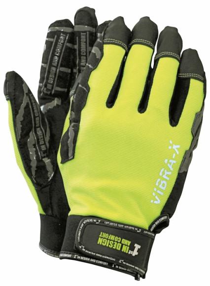 1st VIBRA-X vibráció elleni kesztyű fekete