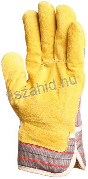 204 sárga marhahasíték kesztyű