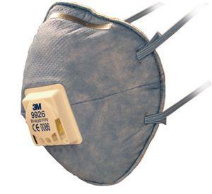 3M 9926 FFP2 aktívszenes szelepes pormaszk