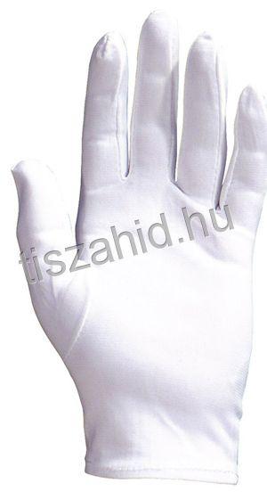 4208 100% hófehér, tartós, vékony nylon kesztyű