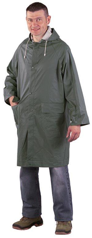 50400 rövid PVC esőköpeny zöld