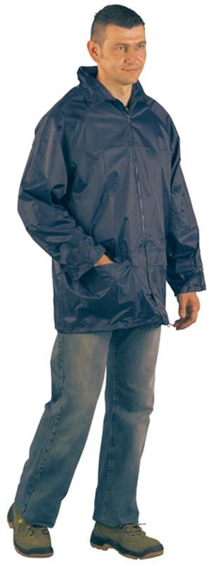 50570 rövid orkánköpeny kék