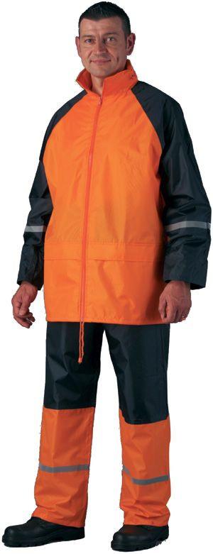 50730 fluo narancs orkánruha