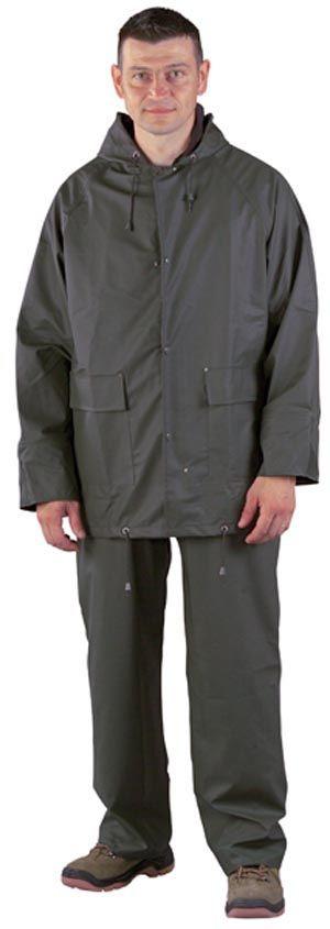 50800 PU zöld esőruha
