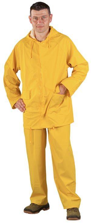 50810 PU sárga esőruha
