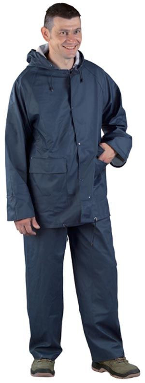 50820 PU kék esőruha