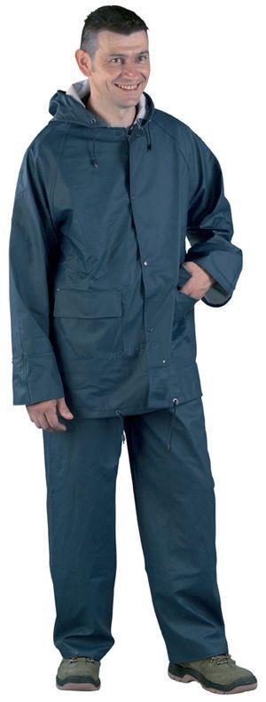 50920 PU/PVC kék esőruha