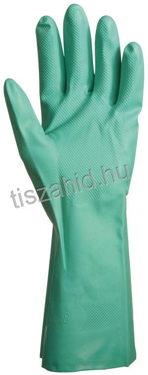 5507 zöld akrilonitril kesztyű