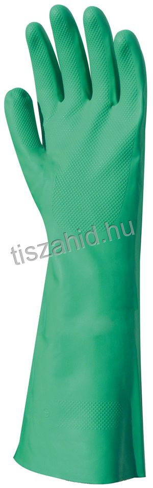 5527 zöld akrilonitril kesztyű