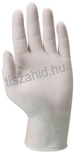 5822 egyszerhasználatos latex púderozatlan belsővel
