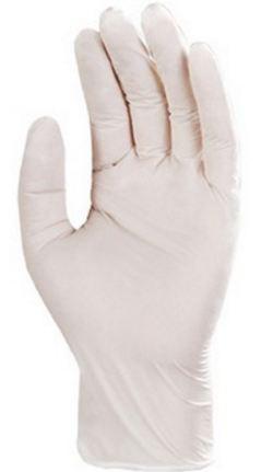 5940 Nitril fehér púder nélküli egyszer használatos kesztyű