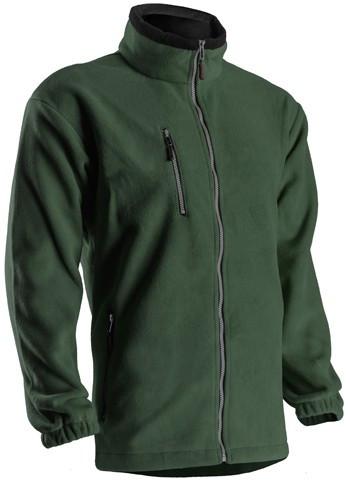 5VANV ANGARA CIPZÁROS zöld pulóver