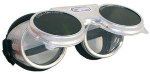 60810  (F109655)  REVALUX felhajthatós kerek IR5 hegesztő szemüveg