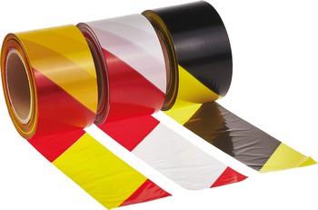 70013 jelzőszalag piros-sárga 7 cm / 200 m