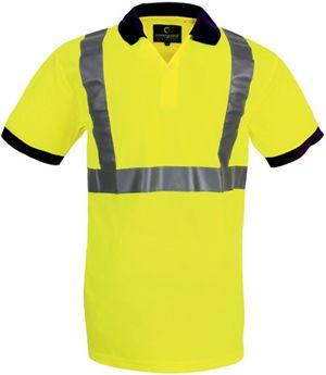 70270 fluo teniszpóló sárga