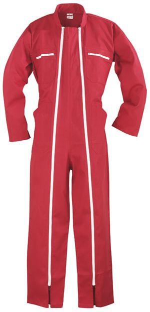 74520 2 zip overáll piros
