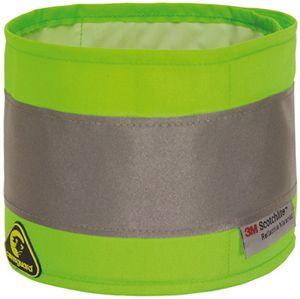 7ARMG fluo karszalag zöld