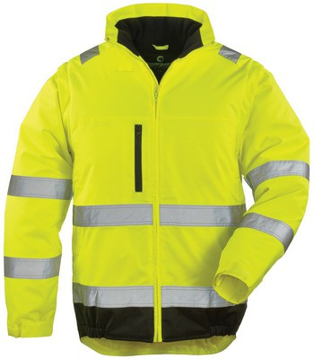 7HWXY HI-WAY XTRA 2/1 fluo kabát sárga