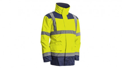 7KANY KANATA Hi-Viz PE kabát sárga/kék