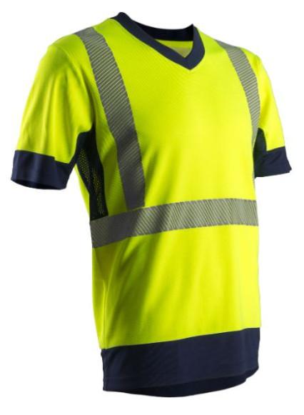 7KOMY KOMA Hi-Viz sárga rövid ujjú póló