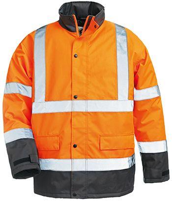 7ROAO ROADWAY fluo kabát narancs