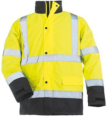 7ROAY ROADWAY fluo kabát sárga