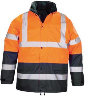 7ROPO ROADWAY 4/1 fluo kabát narancs/kék