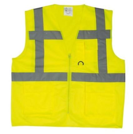 7YGMY Yard fluo mellény sárga