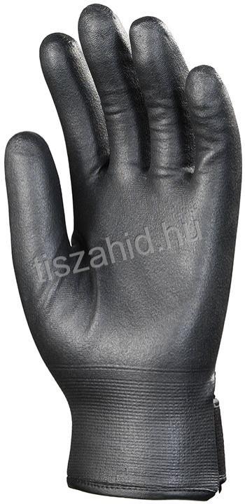 9079 kopásálló poliamid nylonra teljesen mártott rugalmas nitrilkesztyű