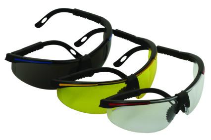 91708-SA sárga Védőszemüveg
