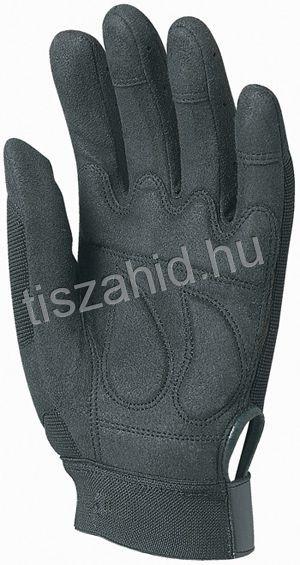 930 fekete szintetikus bőrkesztyű nagy igénybevételre
