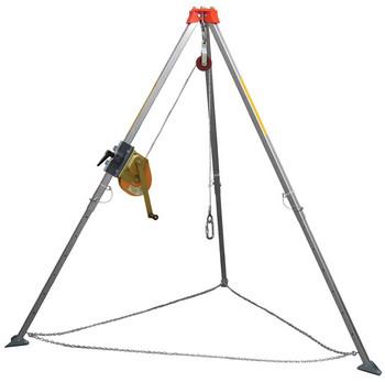 AT011 háromlábú, teleszkópos, hasáb profilú alumíniumállvány