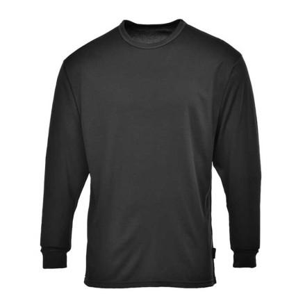 B123 Hosszú ujjú póló fekete