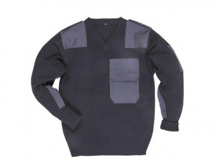 B310 Nato pulóver, fekete