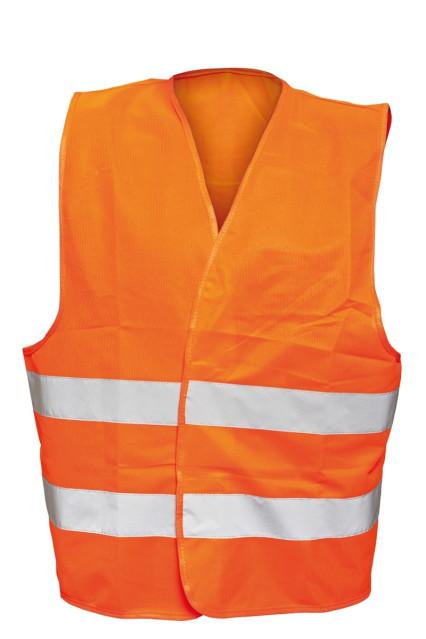 BE-04-003 BRUNO fluo narancs mellény