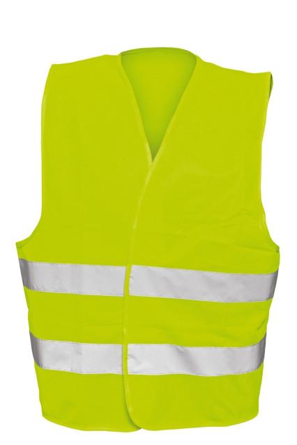 BE-04-003 BRUNO fluo sárga mellény