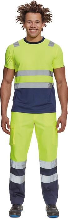 BURGOS HV nadrág sárga/navy