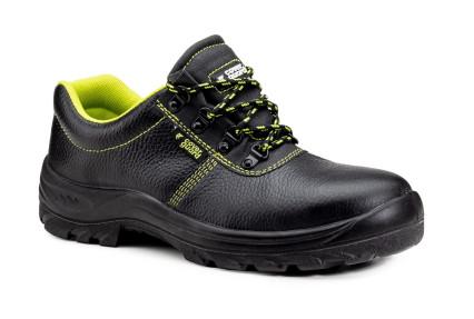 CARLO II S1 fekete acélos védőfélcipő