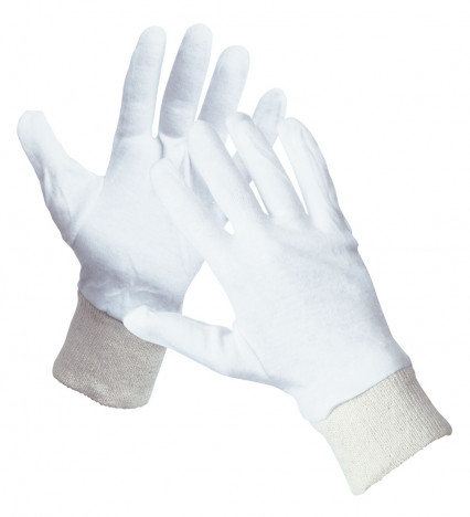 CORMORAN kötött pamutkelméből varrt kesztyű