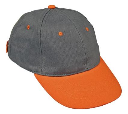 DESMAN sapka szürke - narancs