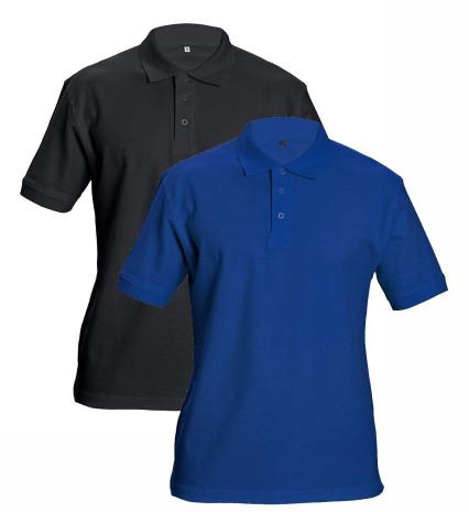 DHANU galléros póló royal kék