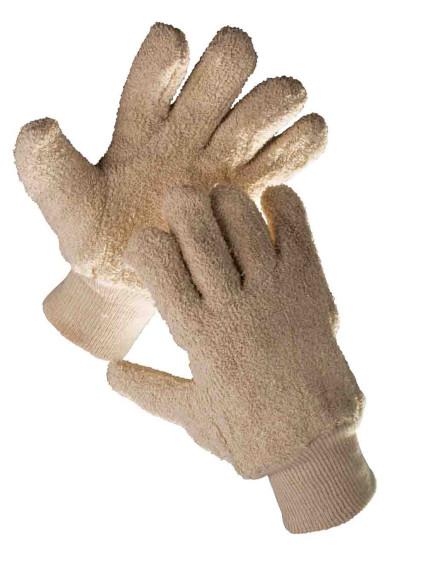 DUNLIN pamut frottírból varrt kesztyű