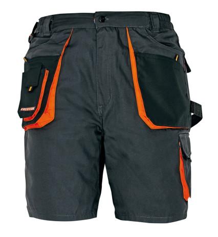 EMERTON rövidnadrág fekete-narancs