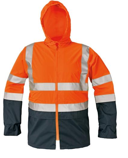 EPPING fluo kabát narancs/navy