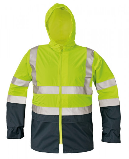 EPPING fluo kabát sárga/navy