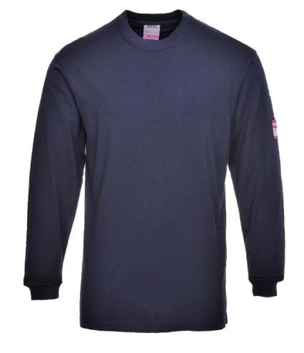 FR11 lángálló hosszú ujjú póló, tengerészkék