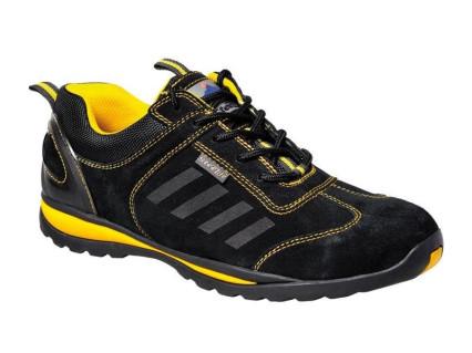 FW34 Steelite Lusum S1P félcipő fekete/sárga